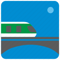 metro, metropolitan, railways, train, transport icon