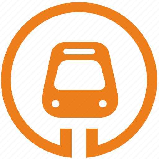 metro, metropolitan, sign, train, transport icon