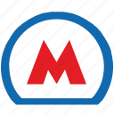 label, metro, metropolitan, moscow, russia, sign icon