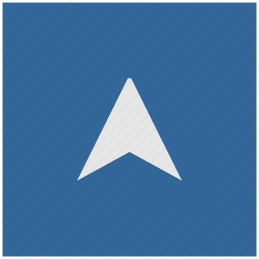 blue, deep, drive, pointer, square, way icon