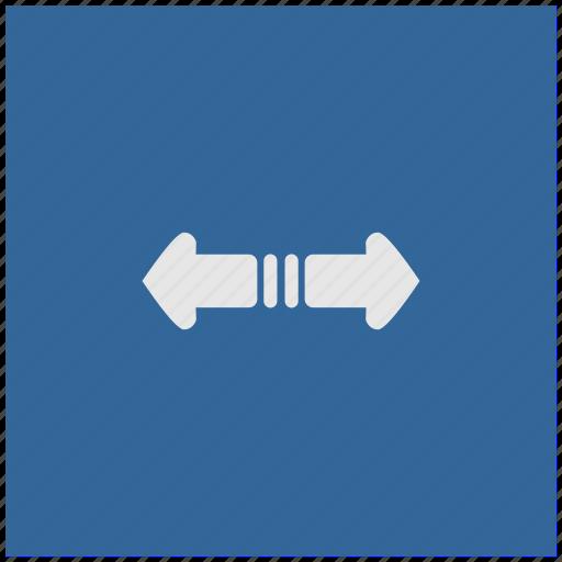 blue, deep, horizontal, scroll, square icon