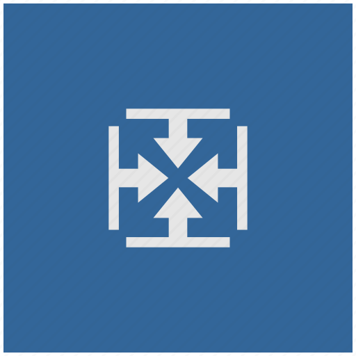 blue, deep, height, inside, size, square, width icon