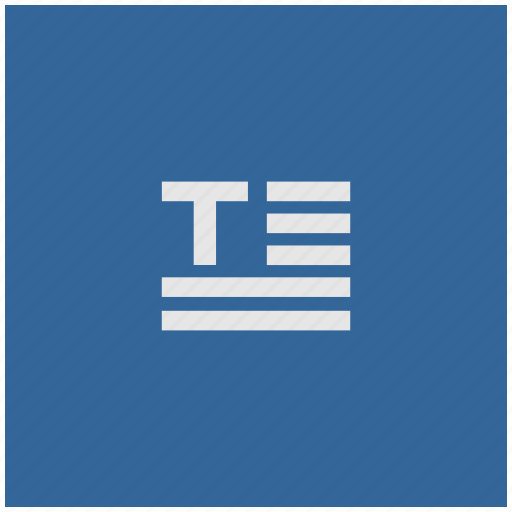 blue, deep, paragraph, square, text icon