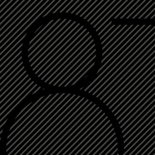 avatar, delete, men, profile, remove, style2, women icon