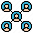 group, member, network, team, users