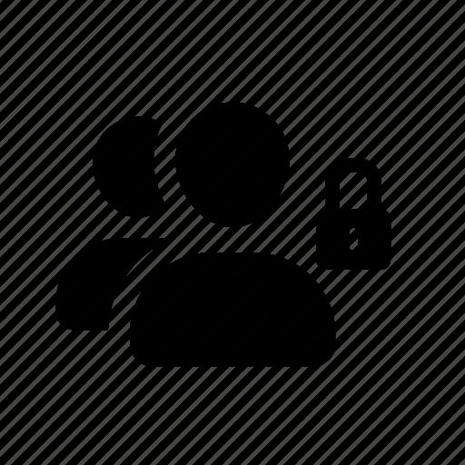 group, lock, pix, team, unlock icon