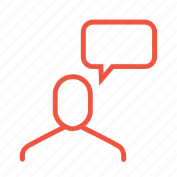 answer, chat, man, message, reply, talk, user icon