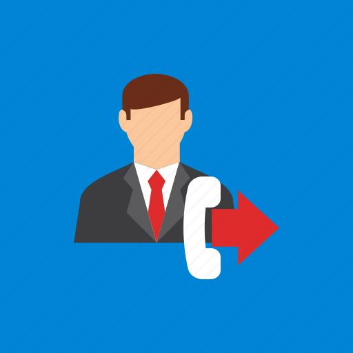 account, calling, man, user icon