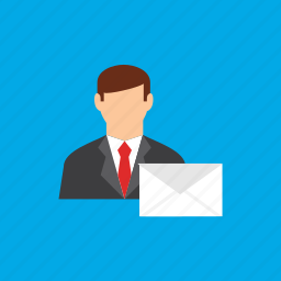 account, email, man, user icon