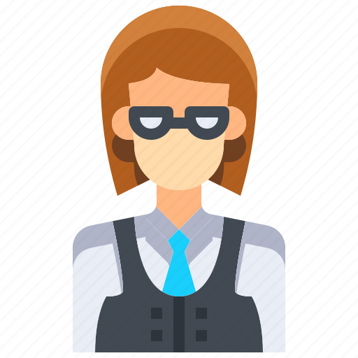 Avatar, dealer, female, people, person, user, woman icon - Download on Iconfinder