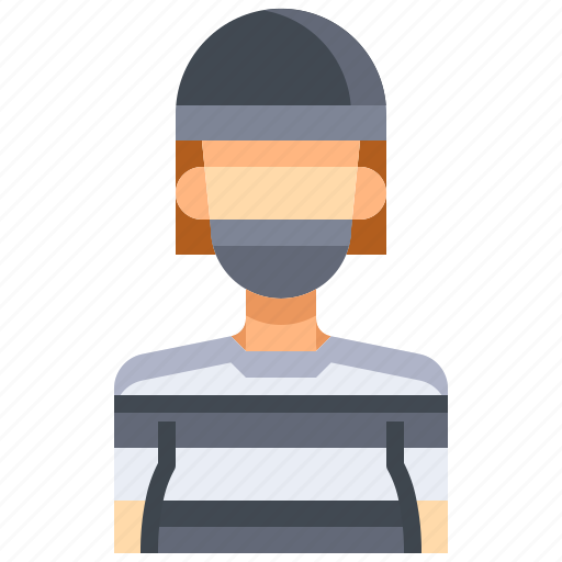 avatar, bandit, female, people, person, user, woman icon