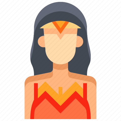 avatar, female, hero, people, person, wander, woman icon