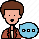 customer, people, review, speech, support, talk, user