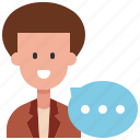 account, customer, people, speech, support, talk, user