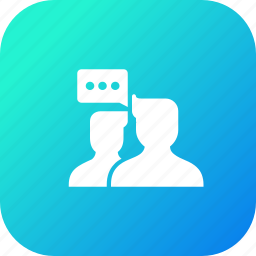 avatar, chat, communication, discussion, group, talk, user icon