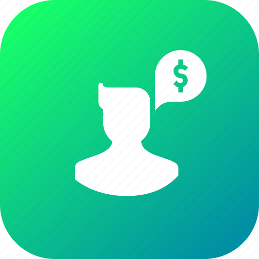 avatar, currency, finance, male, money, think, user icon
