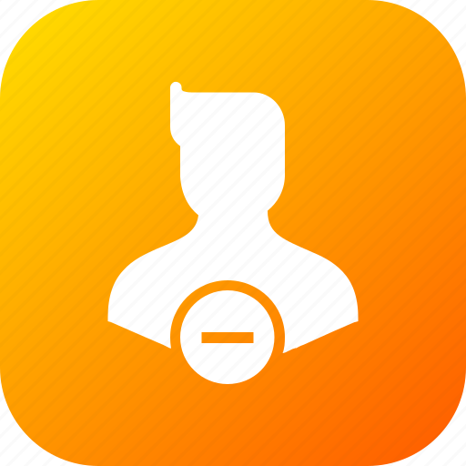 Avatar, character, delete, male, man, remove, user icon - Download on Iconfinder