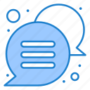 chat, callout, bubble, message
