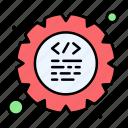 coding, cog, gear, program