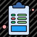 archive, document, favorite, file, list