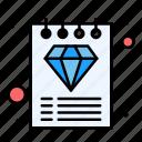 diamond, luxury, premium, document