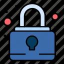 pad, lock, security