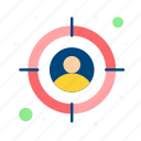 audience, customer, target