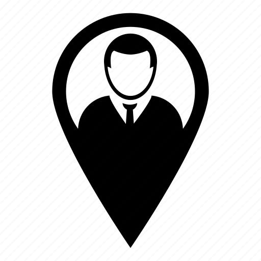 gps, location, map, marker, profile, user icon