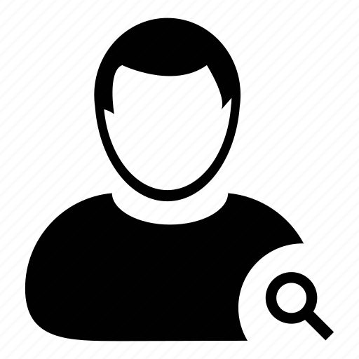 admin, avatar, men, people, person, search user, user icon