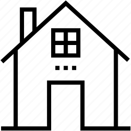 building, home, house, hut, shack icon