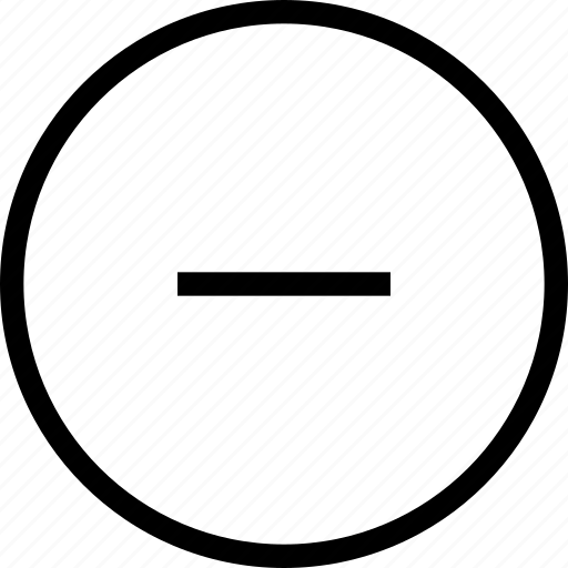 Cancel, circle, delete, minus, round, ui icon - Download on Iconfinder