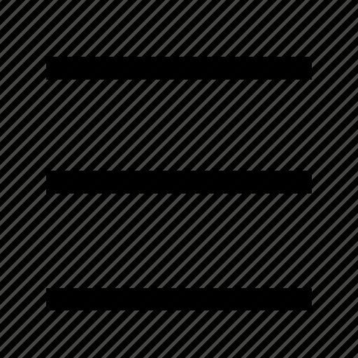 document, file, list, menu icon