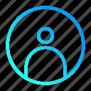 account, avatar, profile, user interface