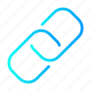 chain, link, seo, url, user interface icon