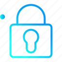 lock, protection, safety, security, user interface icon