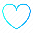 heart, love, romance, user interface icon