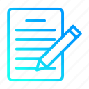data, document, note, sheet, user interface icon