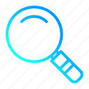 find, magnifier, search, user interface, zoom icon