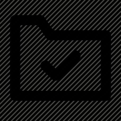 check, document, file, files, folder icon