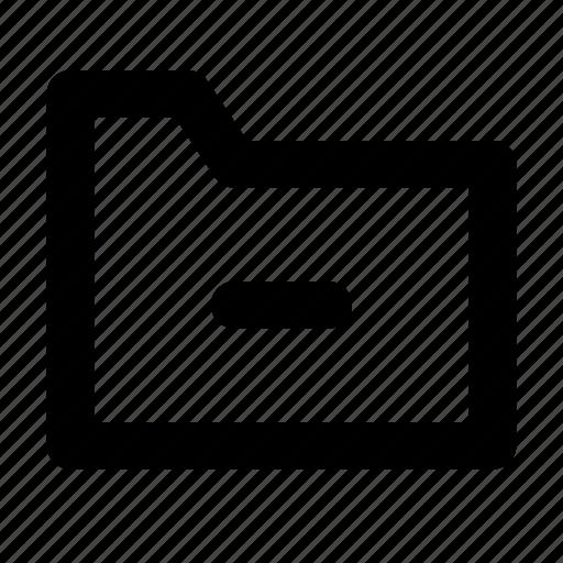 document, file, files, folder, minus icon