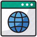 browser, internet marketing, web preferences, web window, webpage, www icon