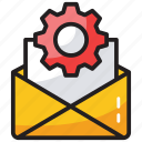mail settings, message configuration, message settings, preferences, seo icon