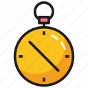 alarm, clock, stopwatch, timer icon