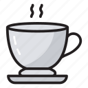 cup of tea, hot beverage, hot tea, tea, tea cup icon