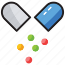capsule, drug, healthcare, medicine, pill, tablet icon