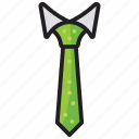 formal tie, groom necktie, menswear, necktie, office costume icon