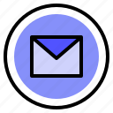 email, interface, message, ui icon