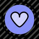 heart, interface, like, ui icon