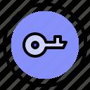 interface, key, password, ui icon
