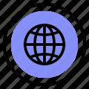global, interface, language, ui icon